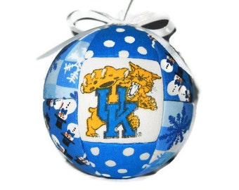 Kentucky Wildcats Christmas Ornament, Tree Decoration, Home Decor, Sports, Gift Under 20, Collection, Home Decor, Gift, Teacher Gift