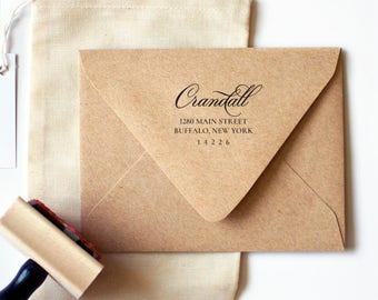 Greenfield Return Address Stamp