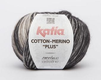 Pincushion COTTON oatmeal - color gray tone 207 Katia