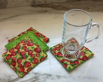 Spring Collection Quilted Coasters Set of 4