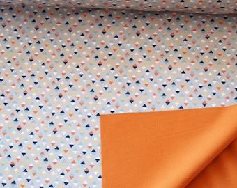 Softschell wasserabweisend - bunte Dreiecke