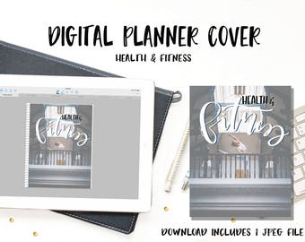 Digital Planner Cover - Health & Fitness