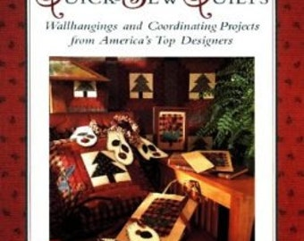 Quick Sew Quilts: Wallhangings And Coordinating Projects From America's Top Designers (Best-Loved Designers' Collection) Paperbackack book