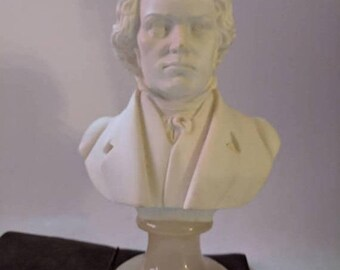 ON SALE Vintage A Giannelli 'Beethoven' Bust