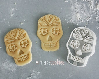 Mexican Skull Cookie Cutter