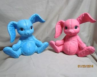 Easter Bunny Twins Banks
