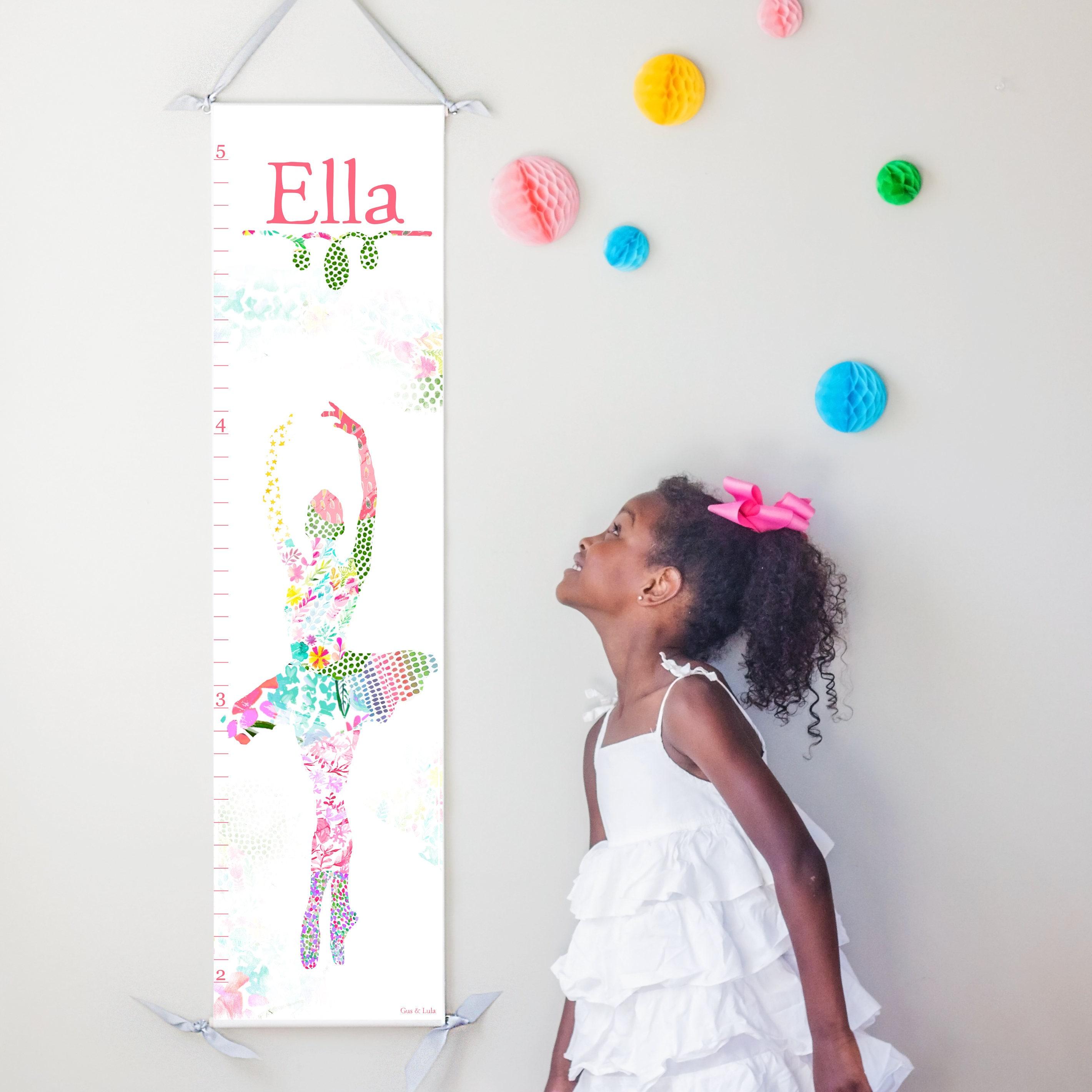 Ballerina canvas growth chart nvjuhfo Gallery