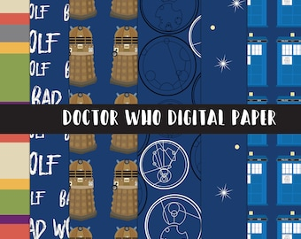 Doctor Who Digital Paper