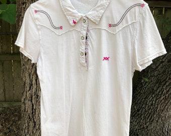 Pearl snap shirt