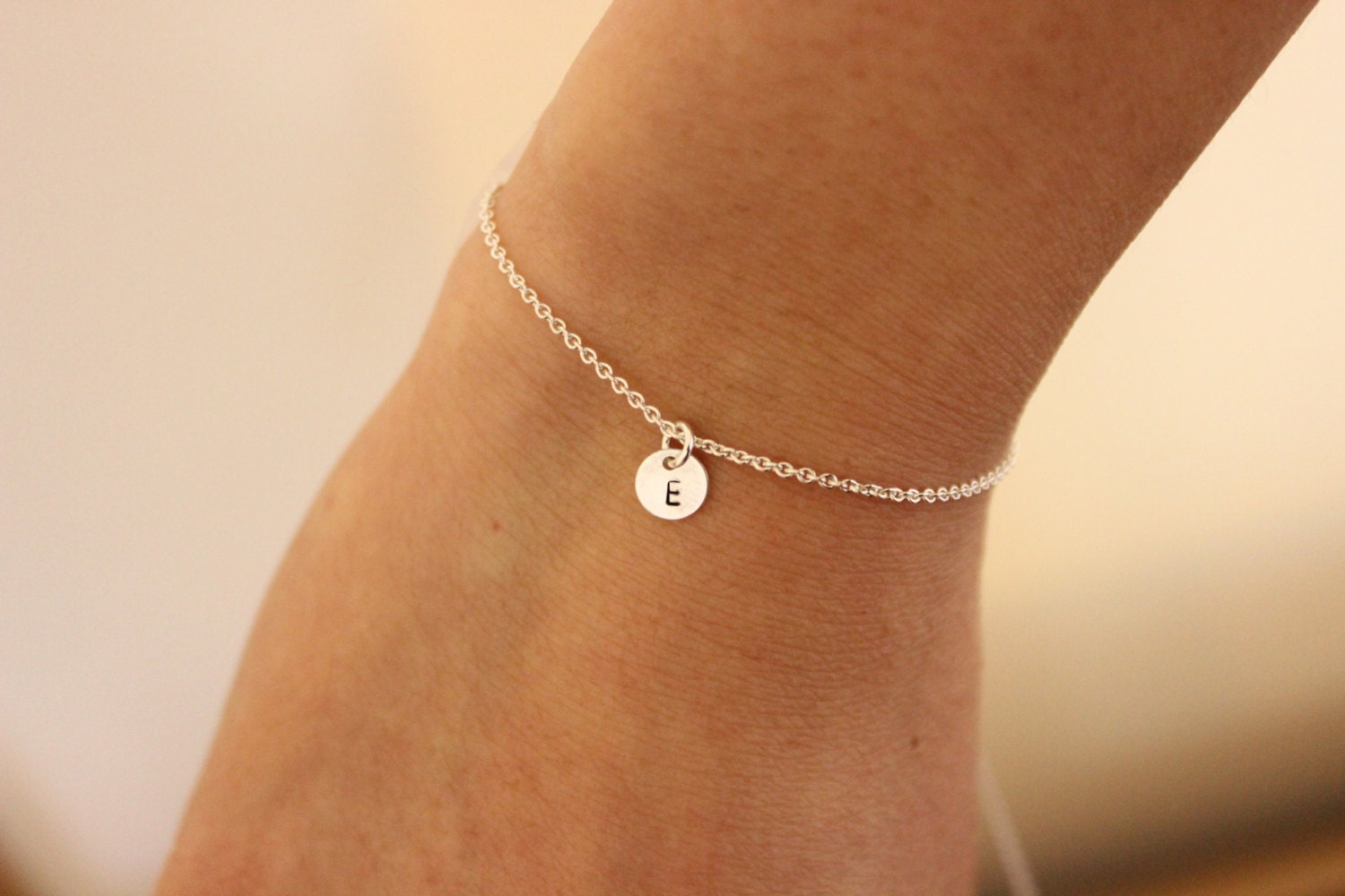 jewelry store heart bracelet charm silver sterling dainty small simple