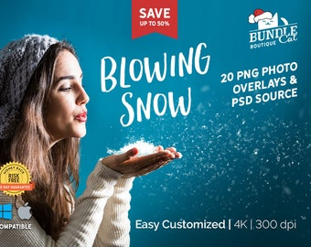 20+ Blowing Snow Photo Overlays + Photoshop Source, Blowing snow png, Photoshop overlays, Digital overlays, Snowflake overlay, Snow overlay
