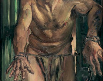 Poster, Many Sizes Available; The Blinded Samson By Lovis Corinth