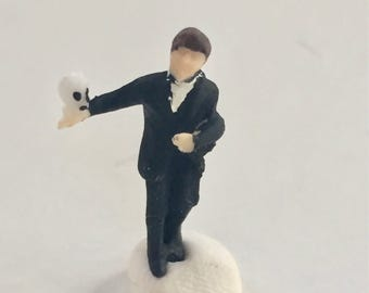 Hamlet HO Scale  Model Train Figure Perfect for Planter or Terrariums