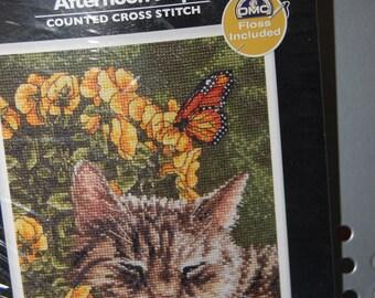 AFTERNOON NAP - Cross Stitch Kit Bucilla
