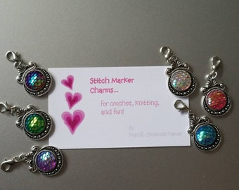 Mermaid Stitch Marker Set
