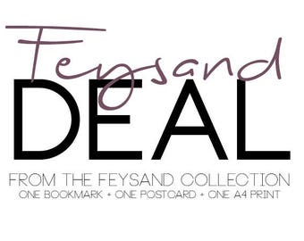 Feysand Deal - Bookmark + Postcard + A4 Print