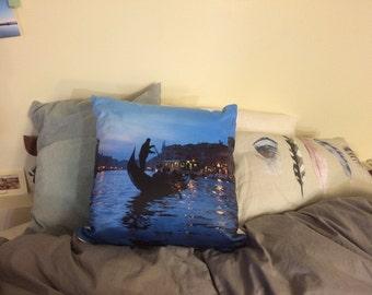 Eloquent Venice Italy Pillow