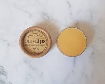 Lemon Myrtle & Lime Lip Balm 7g (Natural, Vegan, Eco-friendly)