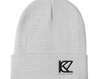 Knit Beanie hat Design logo limited edition