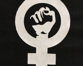 Feminist back patch - all sales donated