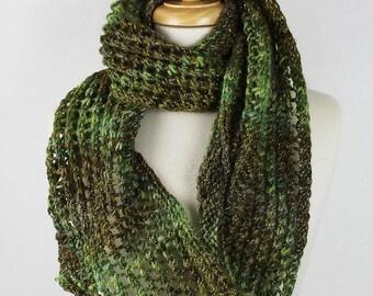 Long Green Scarf