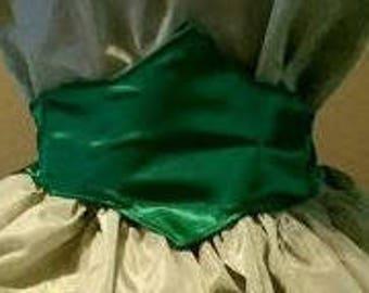 Civil War Victorian SASS Ladies Medic Belt Upgrade Pointed Waist Belt Front Sash Add to our gowns