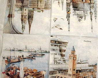 Hamburg napkin