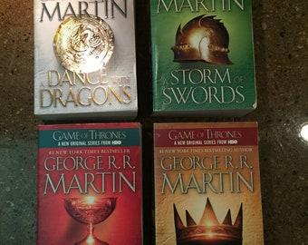 Game of Thrones books.