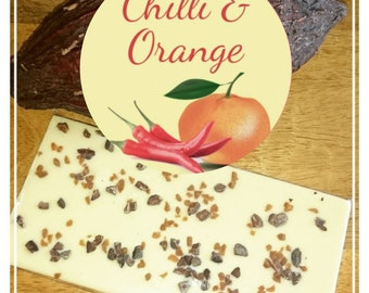 Chilli & Orange Bar 100g Vegetarian