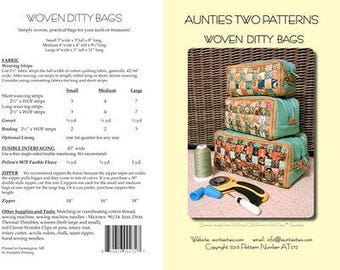 Woven Ditty Bag AT272