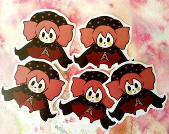 """Madoka Magica Charlotte 2.2"""" handmade sticker"""