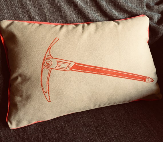 Red axe cushion