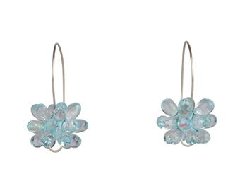 Ice Earrings - Ice Blue
