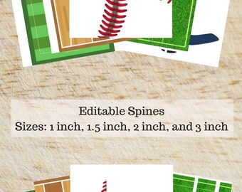 Printable Binder Covers - Sports