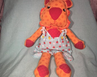 stuffed animal, Leon the Lion, stuffed toy, softie, lion stuffed animal