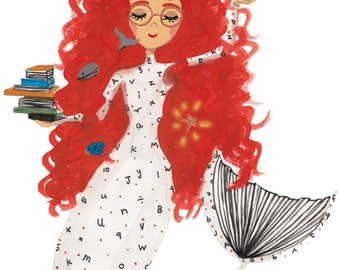 The Books Mermaid