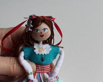 Handmade Cloth Dolls, May Day Princess