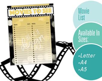 Movie List Tracker