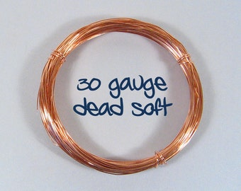 30ga DS Copper Wire - Choose Your Length