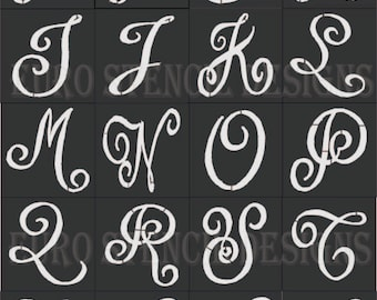 Letter stencils for painting euro stencil designs make your world by eurostencildesigns spiritdancerdesigns