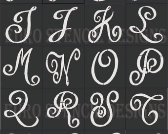 Letter stencils for painting euro stencil designs make your world by eurostencildesigns spiritdancerdesigns Gallery