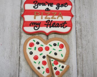 You've Got a Pizza My Heart Buttercream Cookie Boxed Set