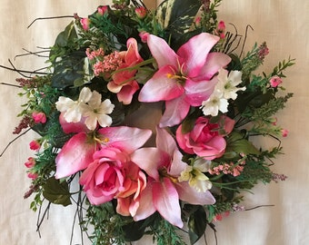 Spring Wreaths - Front Door Wreaths - Spring Door Wreaths - Spring Wreaths for Front Door - Summer Wreaths for Front Door - Summer Wreaths