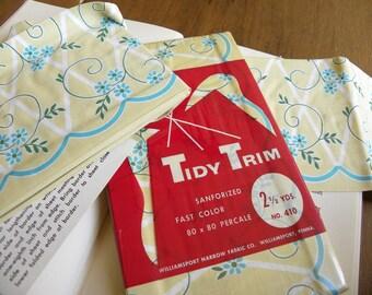 Vintage Tidy Trim Fabric