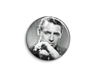 Gary Grant 1078 - pinback button or magnet 1.5 Inch