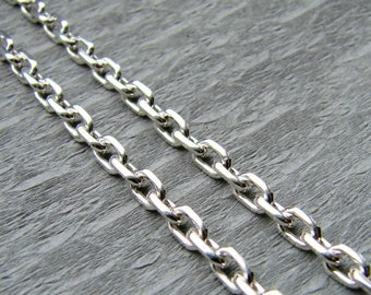 """Silver Chain """"Anchor"""""""