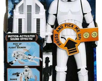 BRAND NEW Star Wars Rogue One Imperial Stormtrooper 65+ SOUNDS The Last Jedi