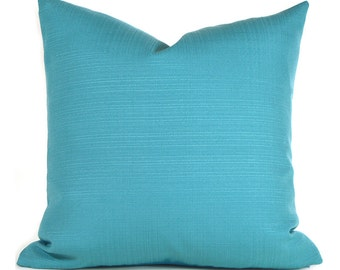 Outdoor Pillows Outdoor Pillow Covers Decorative Pillows ANY SIZE Pillow Cover Turquoise Pillow Richloom Outdoor Forsythe Pool