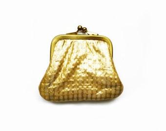 Vintage Gold Frame Purse