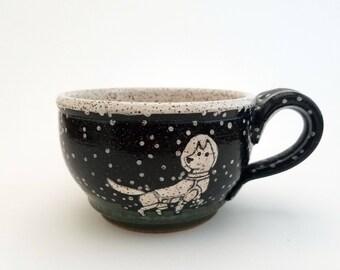 Astronaut Cappuccino Mug